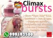 Climax bursts gel estimulante femenino / sexshop miraflores
