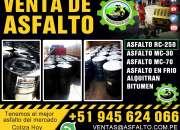 Super venta de asfalto liquido mc -30 / asfalto caliente x mts3