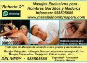 Masajes  Exclusivos para Hombres Maduros y Gorditos