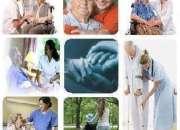 Servicio asistencial para el adulto mayor de enfermería geriátrico a domicilio