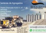 Agregados de Construccion Piedra Chancada Afirmado Arena Gruesa