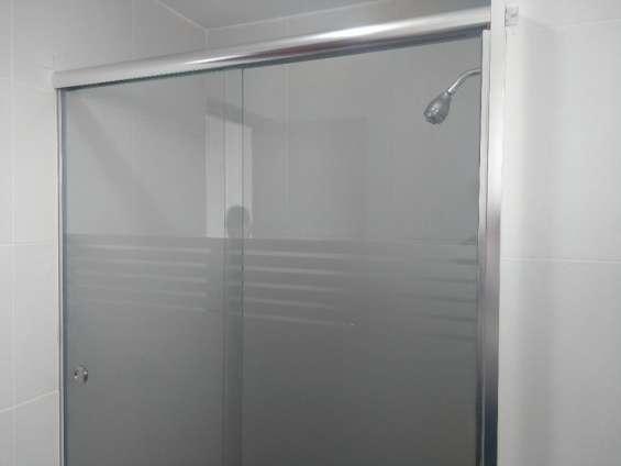 Cristal templado / puertas de ducha - mamparas - los olivos