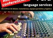 Servicio Sonido para eventos / conferencias/ micrófonos   en todo Perú C.997163010
