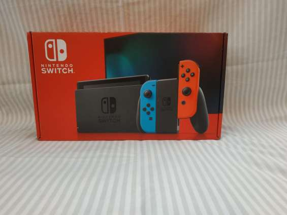 Nintendo switch neon bateria extendida