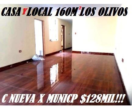 Centrica propiedad los olivos 160m2 $125mil!