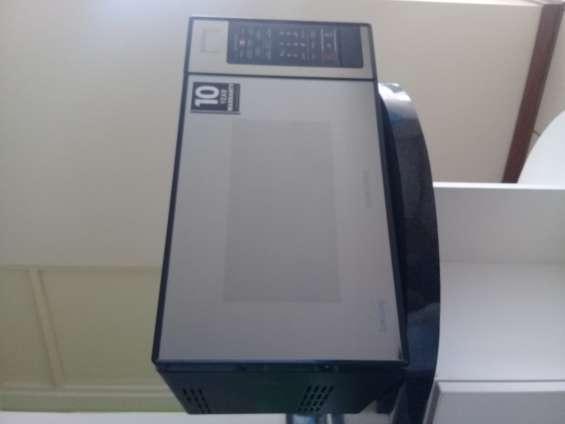 Horno microondas samsung con dorador 50x28x30 s/.300