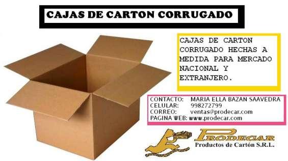 Cajas de carton corrugado para mudanza